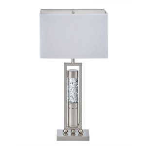Elan Metal/Fabric Table Lamp by Homelegance