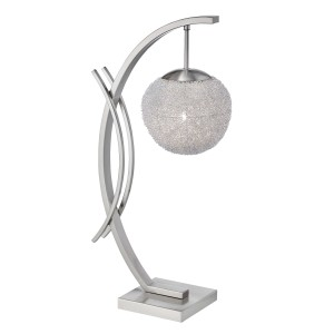 Etsu Metal Table Lamp by Homelegance
