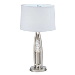 Jair Metal/Fabric Table Lamp by Homelegance