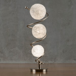 Lenci Metal Table Lamp by Homelegance