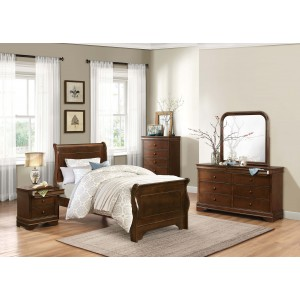 Abbeville 6pc Bedroom Set by Homelegance