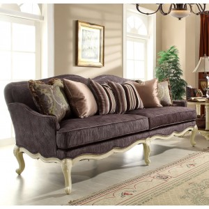 Casanova II Fabric Sofa by Homelegance