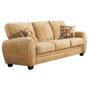 Rubin Microfiber Sofa by Homelegance