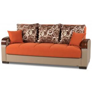 Mobimax Sofa, Orange by Casamode