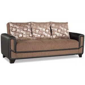 Mondo Modern Sofa, Brown by Casamode