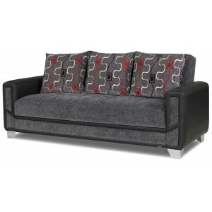 Mondo Modern Sofa, Gray by Casamode
