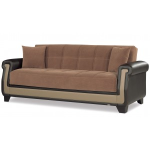 Proline Sofa, Brown by Casamode