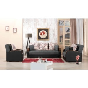 Mobimax Living Room Set, Gray by Casamode