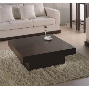 Nile Square Coffee Table by Beverly Hills Furnitue