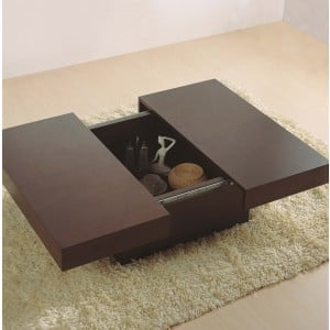 Nile Square Coffee Table by Beverly Hills Furniture