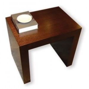 Recluse End Table by Beverly Hills Furnitue