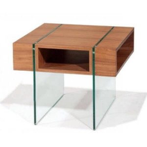Stilt End Table by Beverly Hills Furnitue