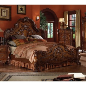 Dresden 2 Queen Size Bed by Acme Furniture