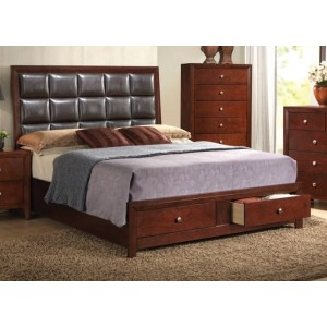 Ilana 1 Queen Size Bed by Acme Furniture