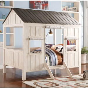 Spring Cottage Full Size Bed, Grey by ACME