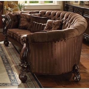 Versailles Sofa 3, Brown Velvet by ACME