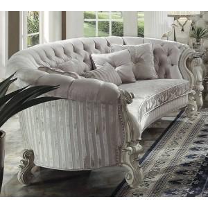 Versailles Sofa 3, Ivory Velvet by ACME