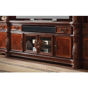 Vendome II TV Stand, Cherry  by ACME