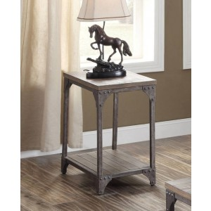 Gorden End Table by ACME