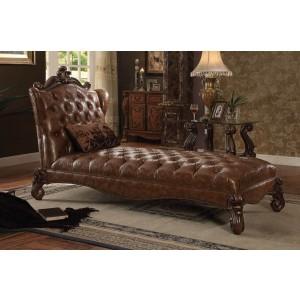Versailles Chaise, Cherry Oak by ACME
