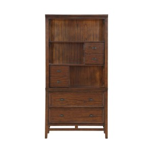 Frazier Park Wood Bookcase by Homelegance