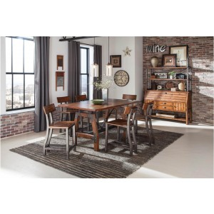 Holverson Industrial Counter Dining Room Set