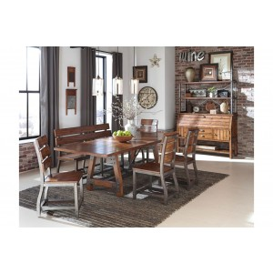 Holverson Industrial Dining Room Set by Homelegance