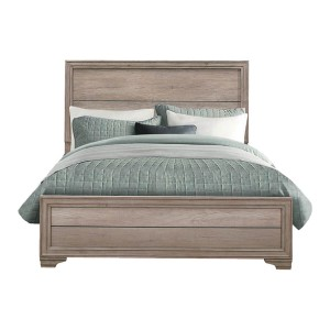 Lonan Wood Bed by Homelegance