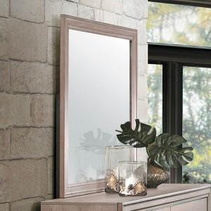 Lonan Wood Mirror by Homelegance