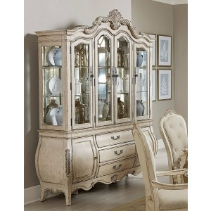 Elsmere Traditional Wood China Cabinet by Homelegance