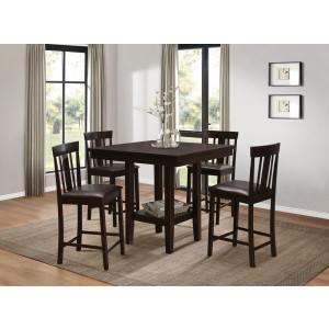 Diego Transitional Counter Dining Room Set by Homelegance
