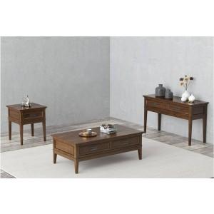 Frazier Park Wood Veneer Occasional Table Set by Homelegance