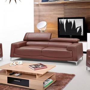 2537 Leather/Eco-Leather Sofa by ESF Furniture
