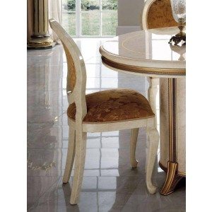 Melodia Classic Fabric Dining Side Chair by ESF Furniture