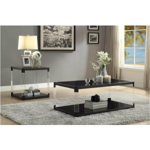 Mehta Glass Occasional Table Set by Homelegance
