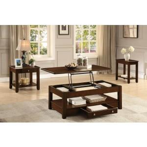 Ballwin Wood Veneer Occasional Table Set by Homelegance