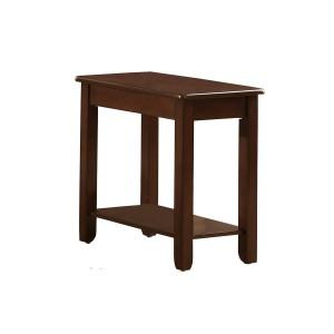 Ballwin Wood Veneer Chairside Table by Homelegance