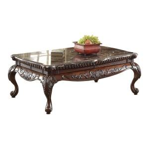 Mariacarla Marble Coffee Table by Homelegance