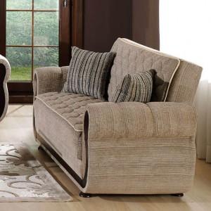 Argos Loveseat Zilkade L. Brown by Sunset (Istikbal) Furniture