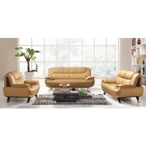 405 Leather/Eco-Leather Living Room Set by ESF Furniture