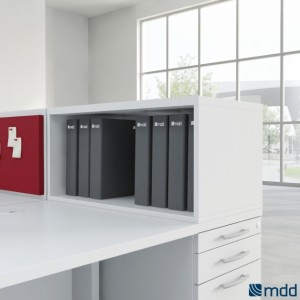 Standard A1L02 Low Office Storage Unit for Pedestal by MDD Office Furniture