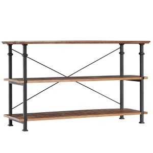 Factory Wood Console Table by Homelegance