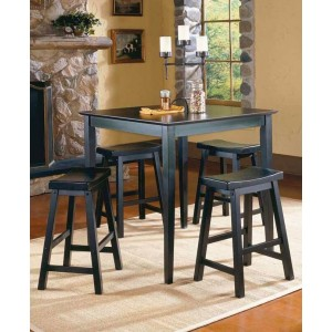 Saddleback Transitional Counter Dining Room Set by Homelegance