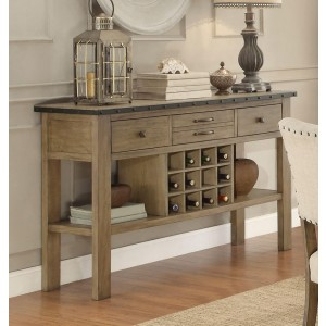 Veltry Transitional Wood Buffet by Homelegance
