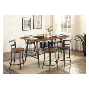 Selbyville Transitional Counter Dining Room Set by Homelegance