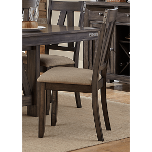 Mattawa Rustic Fabric Dining Chair by Homelegance