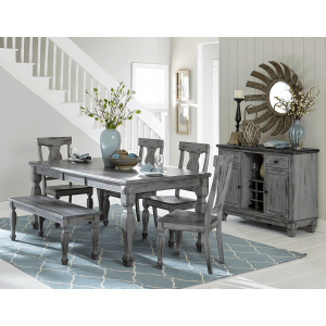 Fulbright Country Dining Room Set by Homelegance