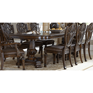 Chilton Traditional Rectangular Wood Extendable Dining Table by Homelegance