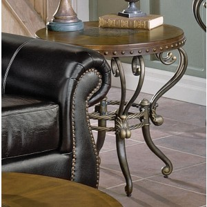 Copeland End Table by Homelegance