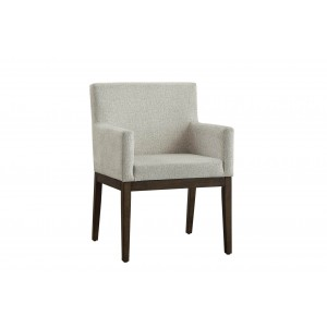 Ibiza Modern Fabric Dining Arm Chair by Homelegance